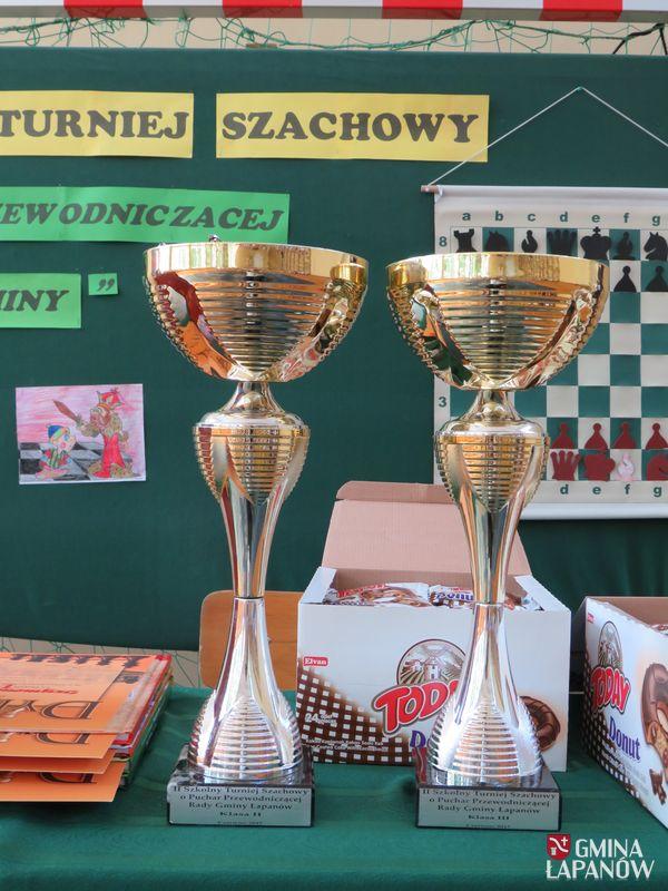 Oglądasz obraz z artykułu: II Szkolny Turniej Szachowy w Publicznej Szkole Podstawowej w Łapanowie
